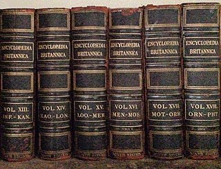 Encyclopedia type of reference work