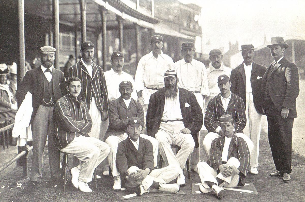 Congratulate, the vintage photos of cricketers something also