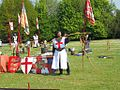 English Festival, St. George's Day, RIverside, Medway archer.jpg