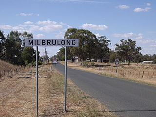Milbrulong Town in New South Wales, Australia