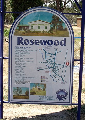 Rosewood, New South Wales - Entering Rosewood