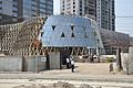 Entrance - JW Marriott Hotel under Construction - Eastern Metropolitan Bypass - Kolkata 2015-02-28 3587.JPG