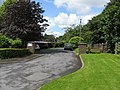 Entrance To Private Housing Estate, Narberth - geograph.org.uk - 1414961.jpg