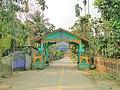 Entrance gate to Sri Sri Dakshinpat Kalabari Adi Satra and Basudev Dol at Dologuri.jpg
