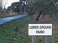 Entrance road to Lords Ground Farm, Swaffham Prior Fen - geograph.org.uk - 321927.jpg