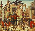 Ercole de' Roberti - Griffoni Polyptych - Predella (detail) - WGA19616.jpg