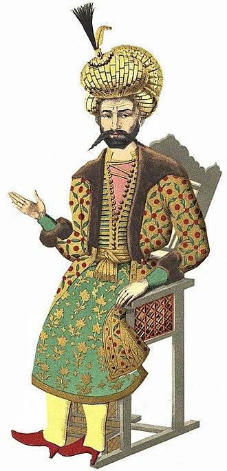 Safavid Georgia - Davud Khan (David XI), appointed by Tahmasp I (1524–1576).
