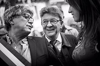 Jean-Luc Mélenchon - Mélenchon with Éric Coquerel, 2017
