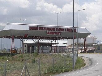 Erzurum Airport - Image: Erzurum Airport