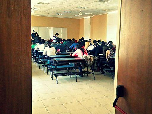 Escenas de exámenes