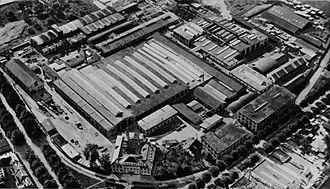 Escher Wyss & Cie. - The Escher Wyss plant in Zürich in 1930