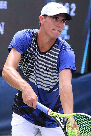 Ernesto Escobedo - Escobedo at the 2016 US Open