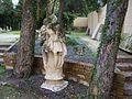 Escultura de sant Cristòfol als jardins del Museu de Belles Arts de València.JPG