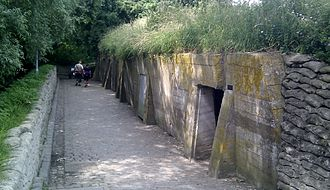 Site John McCrae - Bunkers used by the Advanced Dressing Station