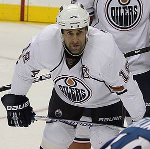 Ethan Moreau - Moreau in 2010 with the Oilers