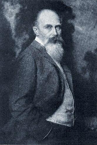 Eugen Bracht - Bracht – photo by Nicola Perscheid (1917)