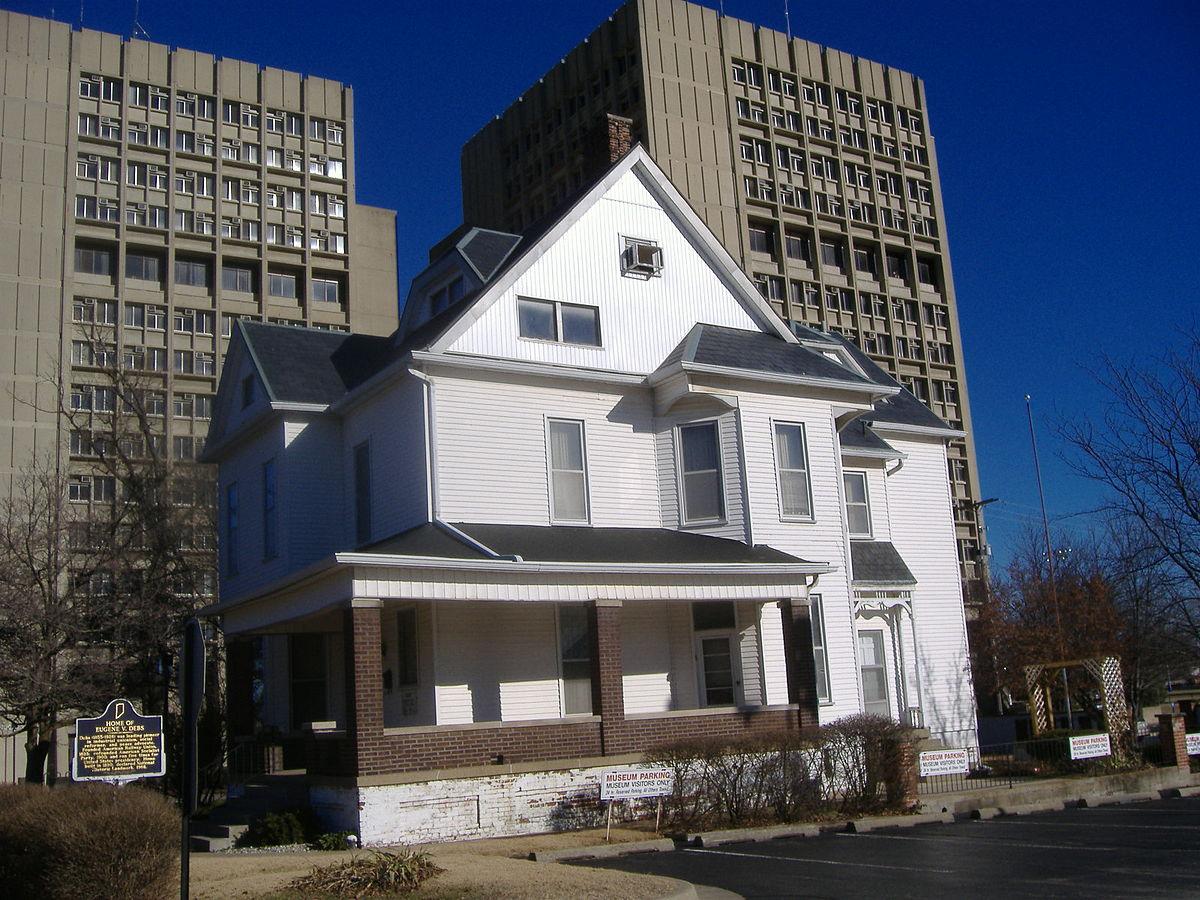 Eugene v debs home wikipedia for House of haute