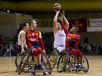 Wheelchair basketball - Competitors in the 2012 Euroleague tournament