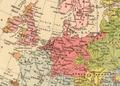 Europe (1896), Germanic ethnic groups.png