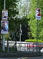 European election posters, Omagh - geograph.org.uk - 1294896.jpg