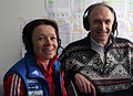 Evgenia Medvedeva Andrey Kondrashov Ivan Isaev Russian Ski Magazine.JPG