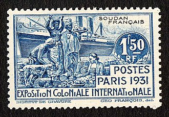 Colonial Exposition Issue - Exposition Coloniale Internationale issue, French Sudan 1931