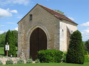 Berry-Bouy - The Chapel of Saint-Aignan, in Berry-Bouy