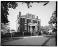 FRONT VIEW FROM ACROSS CLAY ST. - Wills-Davis-Glass House, Clay and Sixth Streets, Lynchburg, Lynchburg, VA HABS VA,16-LYNBU,24-1.tif