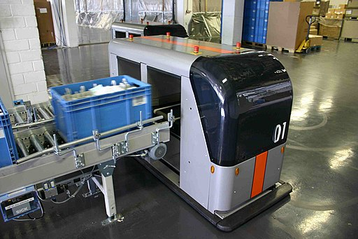 loading of an Automated Guided Vehicle