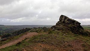 Ashover - 'The Fabrick' or 'Ashover Rock'