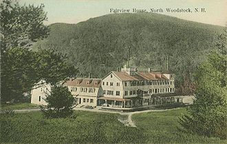 Woodstock, New Hampshire - The Fairview House c. 1914