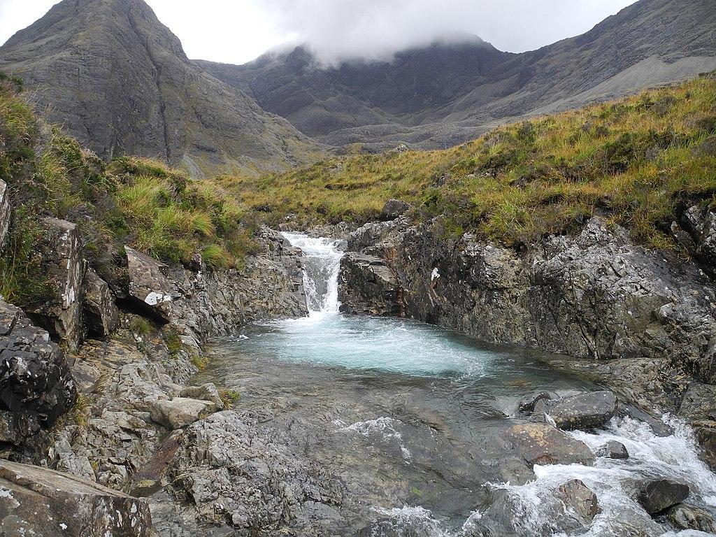 Fairy Pools, Skye, Scotland 16 (highest pool)