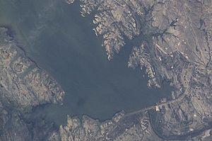 Falcon International Reservoir - Image: Falcon Reservoir