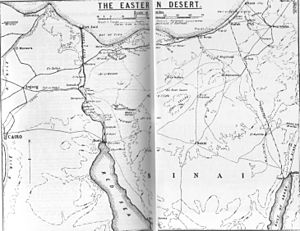First Battle of Gaza - The Eastern Desert (also known as the Negev)
