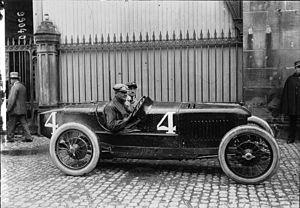 1922 French Grand Prix - Winner Felice Nazzaro