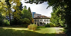 Bümpliz-Oberbottigen - The Feller estate in Bümpliz.