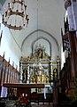Felletin - Église Sainte-Valérie - Choeur.JPG