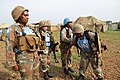 Female combat troops of South African Contingent in MONUSCO on robust foot and moblile patrols 18.jpg