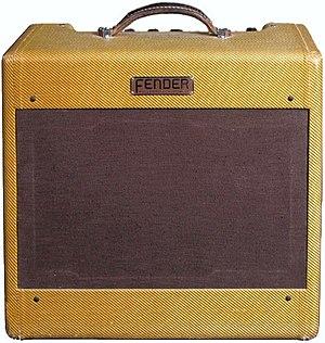 Guitar amplifier - Fender Deluxe 1953
