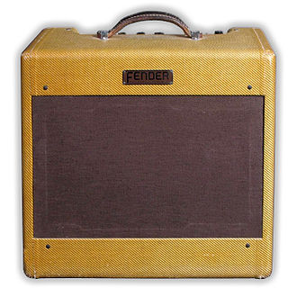 Guitar amplifier - Fender Deluxe 1953