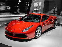 List of ferrari automobiles