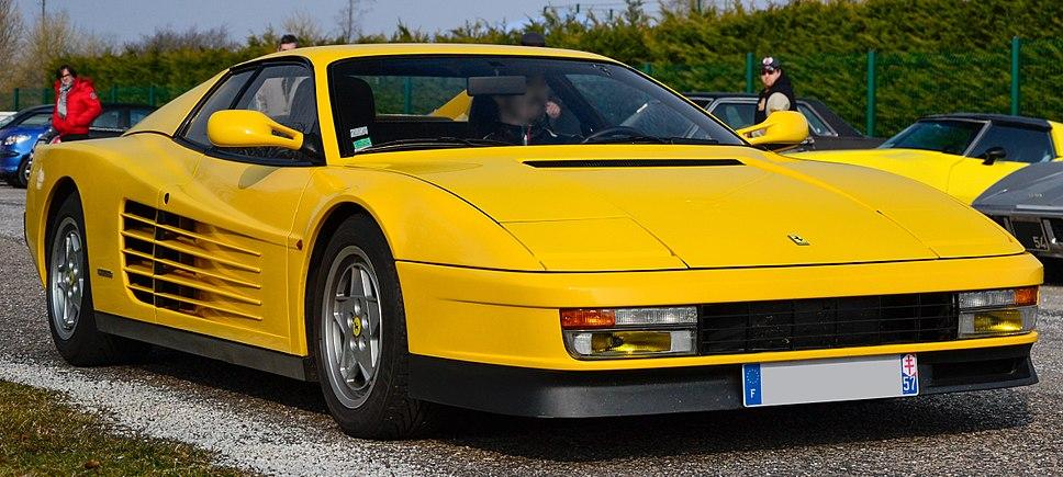 Ferrari Testarossa - Flickr - Alexandre Prévot (5) (cropped)