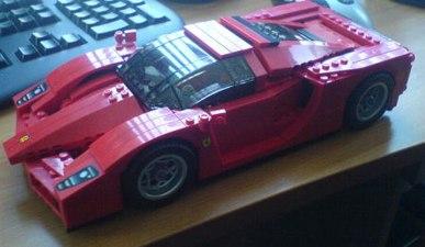 Ferrari enzo lego.JPG