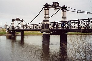 English: Ferry Bridge, Burton upon Trent. Open...