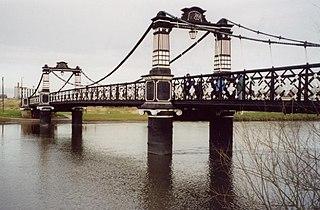 Ferry Bridge, Burton footbridge in Burton upon Trent