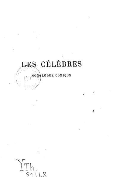 File:Feydeau - Les Célèbres.djvu