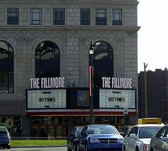 The Fillmore Detroit - Image: Fillmore Detroitmarqueedaylig ht