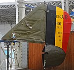 Fin and Rudder of Breguet Br.19 A2-B2 'No66' (34612213370).jpg