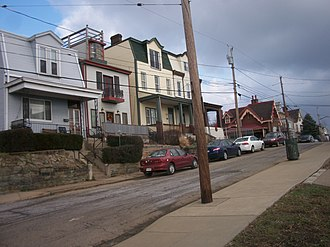 Fineview (Pittsburgh) - Image: Fineviewoppositeover look