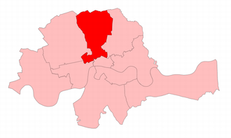 Finsbury (UK Parliament constituency) - Finsbury in the Metropolitan area, 1868–85